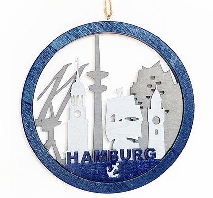 Hamburg zum Aufhängen